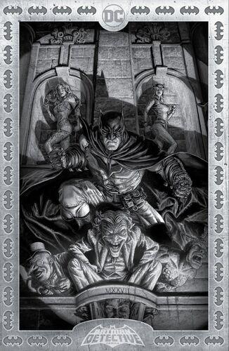 Torpedo Comics Exclusive B&W Lee Bermejo Variant