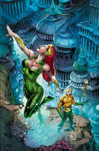 Mera leaving Atlantis
