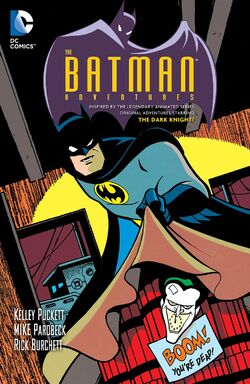 Cover for the Batman Adventures Vol. 2 Trade Paperback