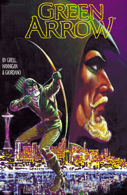 Cover for the Green Arrow: Hunter's Moon Trade Paperback