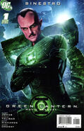 Green Lantern Movie Prequel Sinestro Vol 1 1