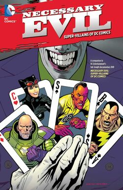 Cover for the Necessary Evil: The Villains of the DC Universe Trade Paperback