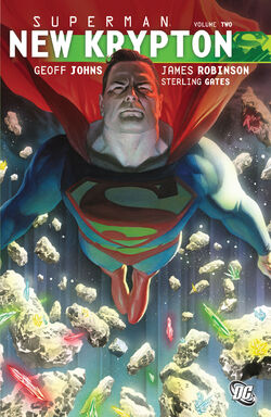 Cover for the Superman: New Krypton Vol 2 Trade Paperback