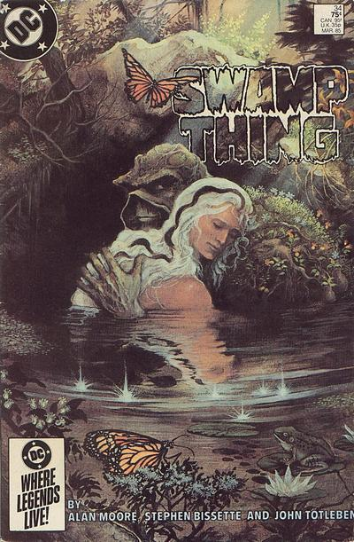 Saga of the Swamp Thing