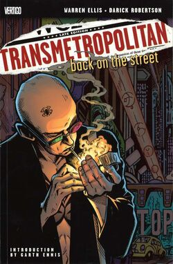 Cover for the Transmetropolitan: Back on the Street Trade Paperback