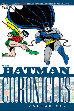 Cover for the Batman Chronicles Vol 10 Trade Paperback