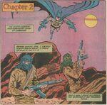 Batman fights terrorists