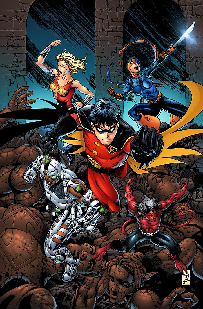 Teen Titans The New Teen Titans  Dc Database  Fandom Powered By Wikia-8877