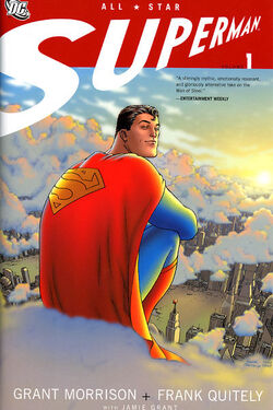 Cover for the All-Star Superman Vol 1 Trade Paperback