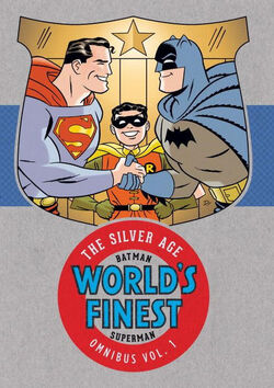 Cover for the Batman & Superman in World's Finest: The Silver Age Omnibus Vol. 1 Trade Paperback