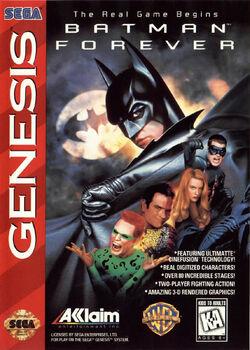 Batman Forever Game Box