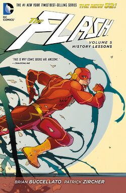 Cover for the The Flash: History Lessons Trade Paperback