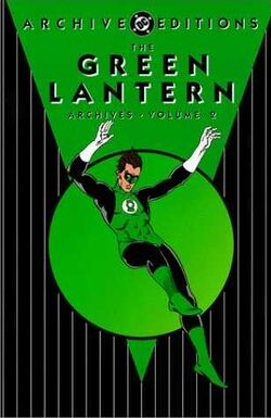 Cover for the The Green Lantern Archives Vol. 2 Trade Paperback