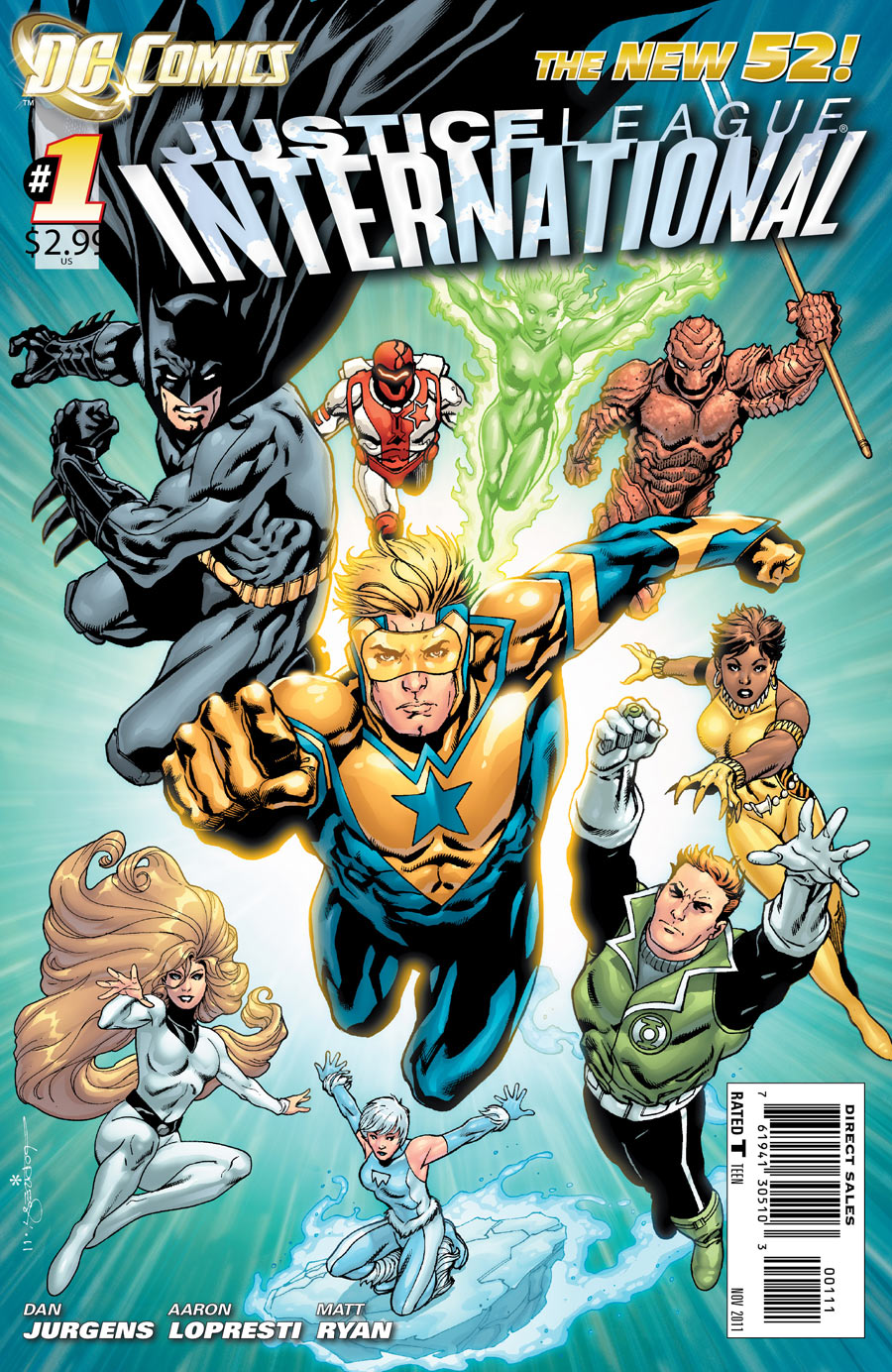 Justice League International: The Signal Masters