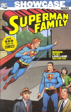 Cover for the Showcase Presents: Superman Family Vol. 1 Trade Paperback