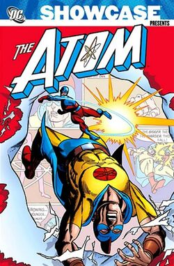 Cover for the Showcase Presents: Atom Vol. 2 Trade Paperback