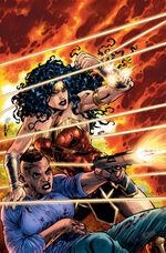 Wonder Woman and Etta Candy fight off assassins