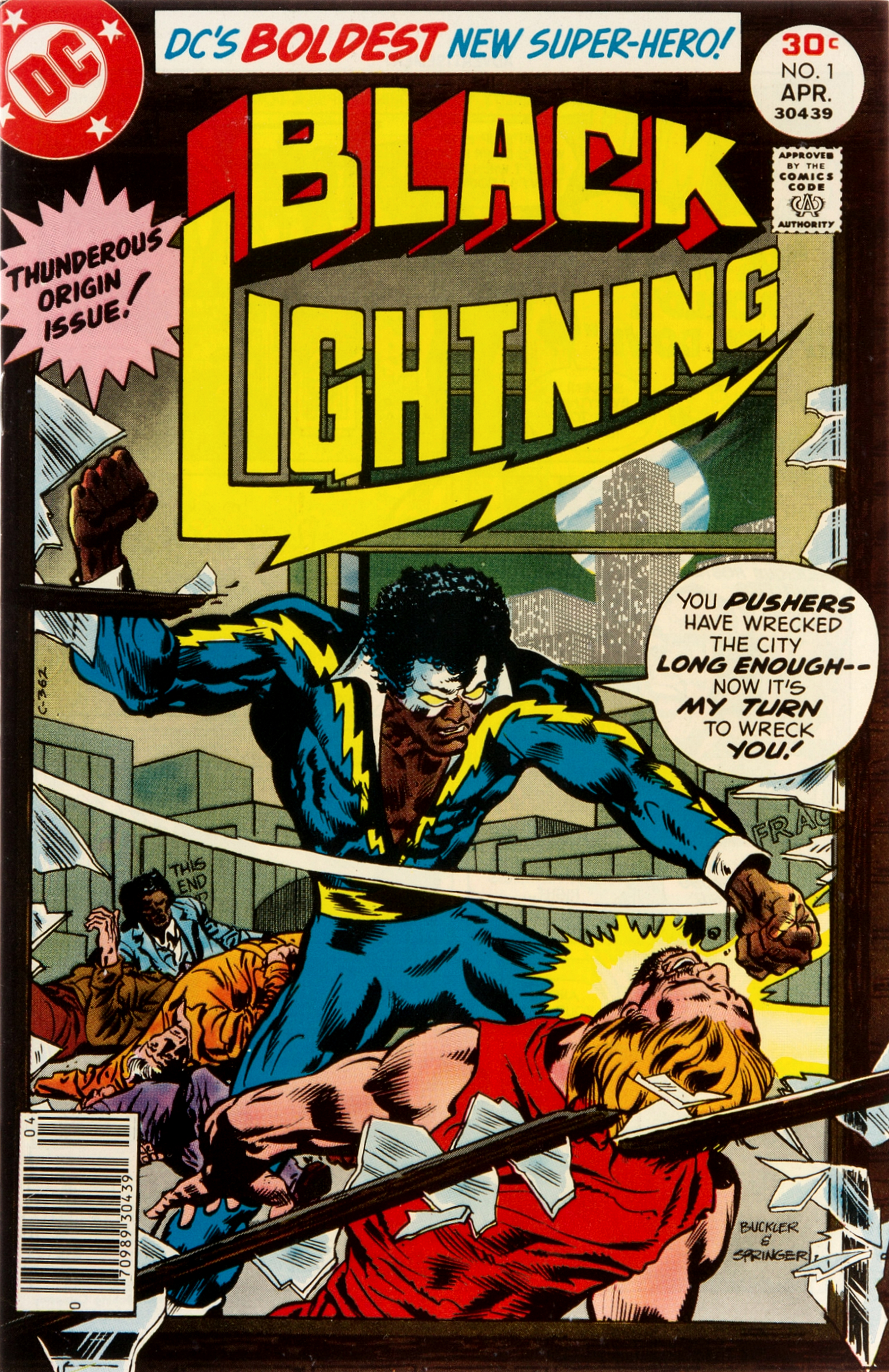 Image result for black lightning number 1