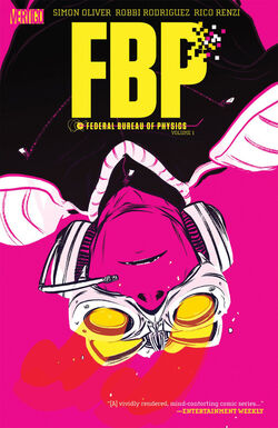 Cover for the FBP: Federal Bureau of Physics: The Paradigm Shift Trade Paperback