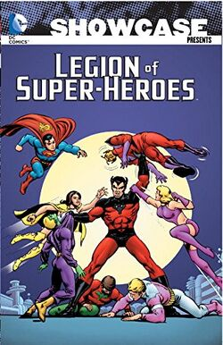 Cover for the Showcase Presents: The Legion of Super-Heroes Vol. 5 Trade Paperback