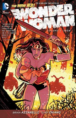 Cover for the Wonder Woman: Iron Trade Paperback