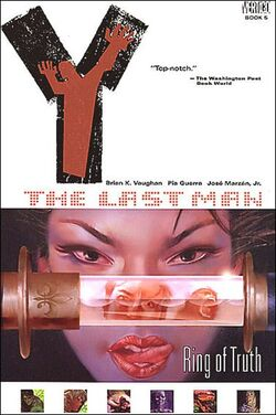 Cover for the Y: The Last Man: Ring of Truth Trade Paperback
