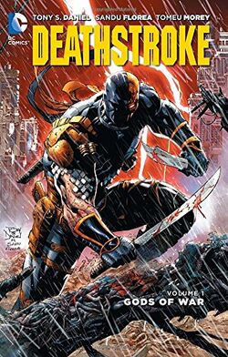 Cover for the Deathstroke: Gods of War Trade Paperback