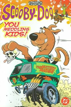 Cover for the Scooby-Doo: You Meddling Kids! Trade Paperback
