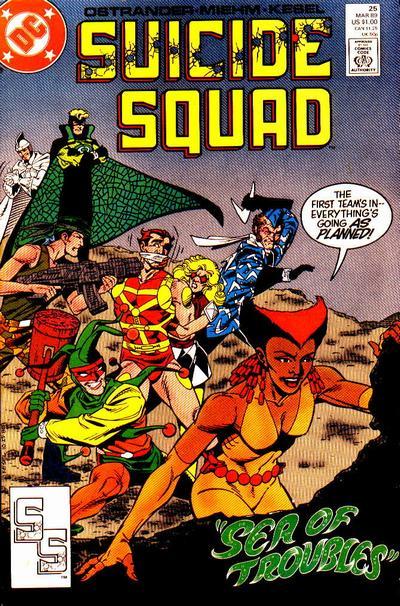Suicide Squad No.25 1989 John Ostrander /& Grant Miehm