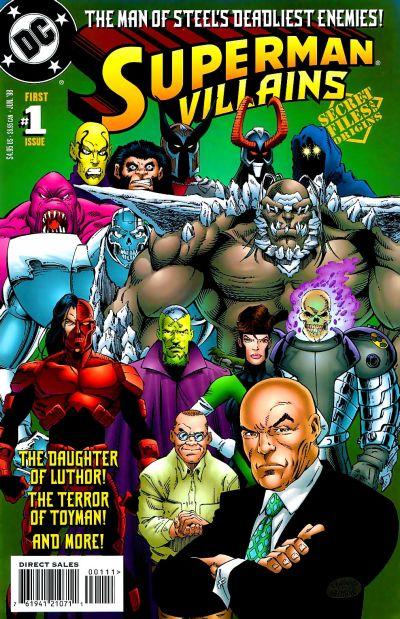 superman villains secret files and origins vol 1 1 dc