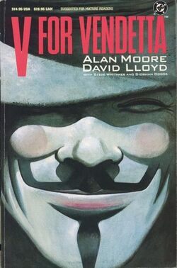 Cover for the V for Vendetta Trade Paperback