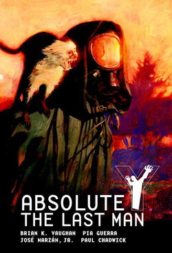 Cover for the Absolute Y: The Last Man Vol. 1 Trade Paperback