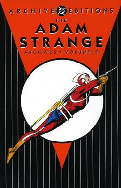 Cover for the The Adam Strange Archives Vol. 2 Trade Paperback