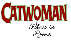 Catwoman When in Rome (2004) logo1