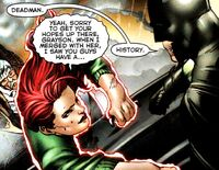 Deadman Blackest Night mistake