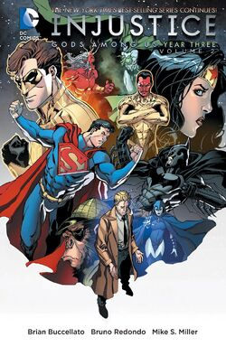 Cover for the Injustice: Gods Among Us: Year Three Vol. 2 Trade Paperback