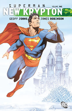 Cover for the Superman: New Krypton Vol 1 Trade Paperback