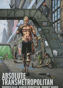 Cover for the Absolute Transmetropolitan Vol. 2 Trade Paperback