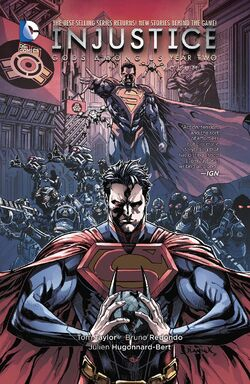 Cover for the Injustice: Gods Among Us: Year Two Vol. 1 Trade Paperback