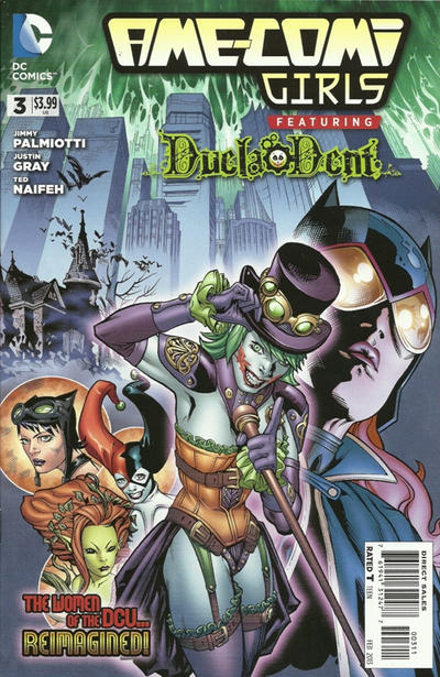 Ame Comi Girls Featuring Duela Dent Vol 1 3 Dc Database
