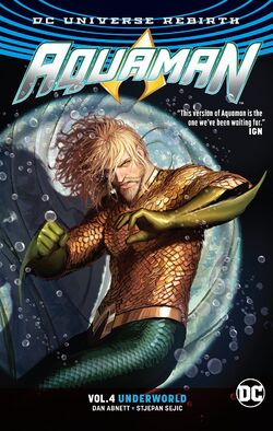 Cover for the Aquaman: Underworld Trade Paperback