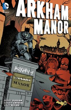 Cover for the Arkham Manor Trade Paperback