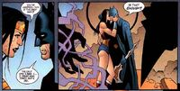 Batman and Wonder Woman kiss