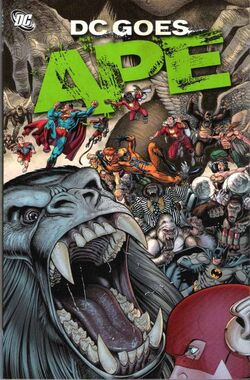 Cover for the DC Goes Ape Trade Paperback