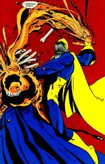 Anti-Fate kills the Phantom Stranger