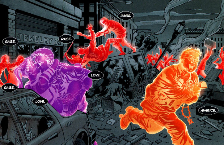 Orange Lantern Corps (New Earth) | DC Database | FANDOM ...