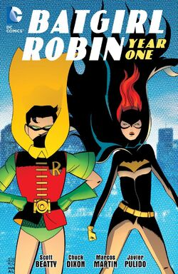 Cover for the Batgirl/Robin: Year One Trade Paperback