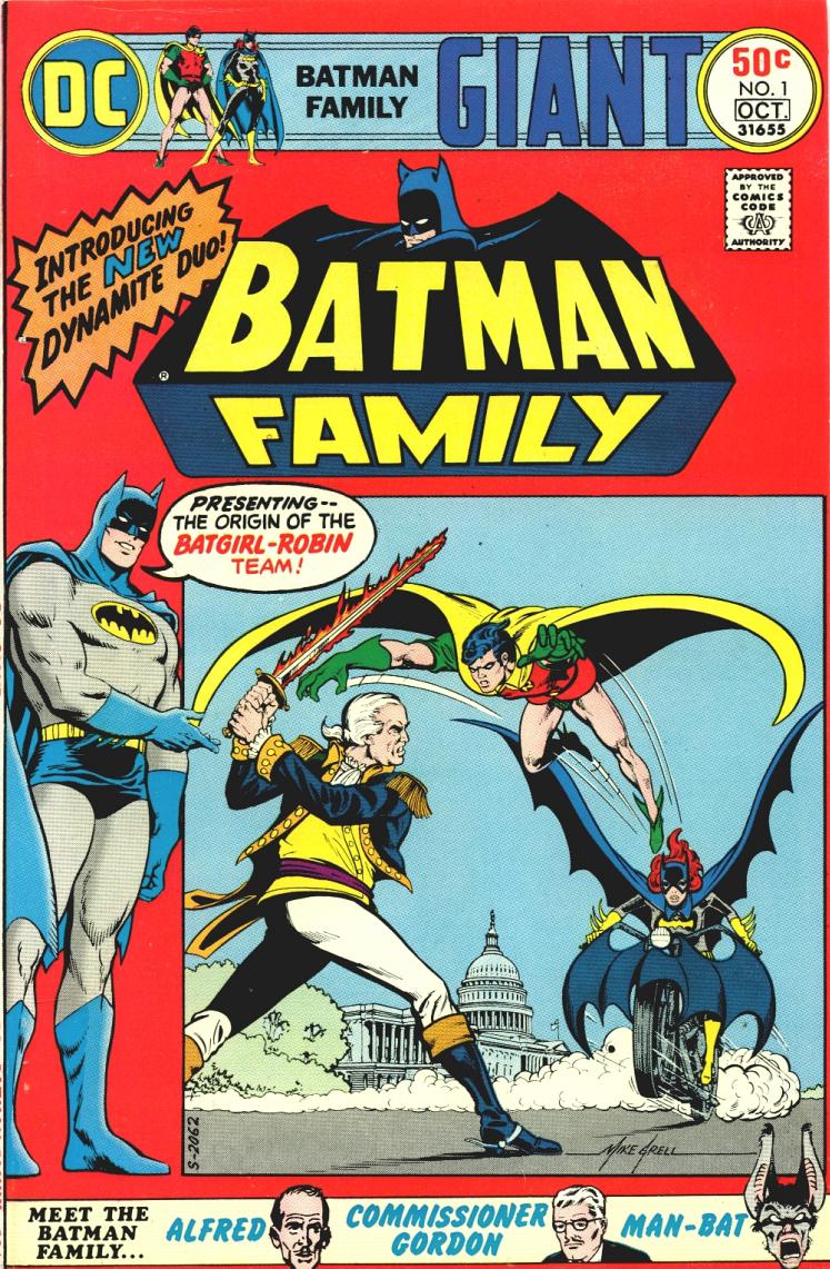 5d7c4f6c7159b1 Batman Family Vol 1 1