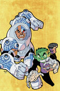 Cyborg Earth-Teen Titans 002