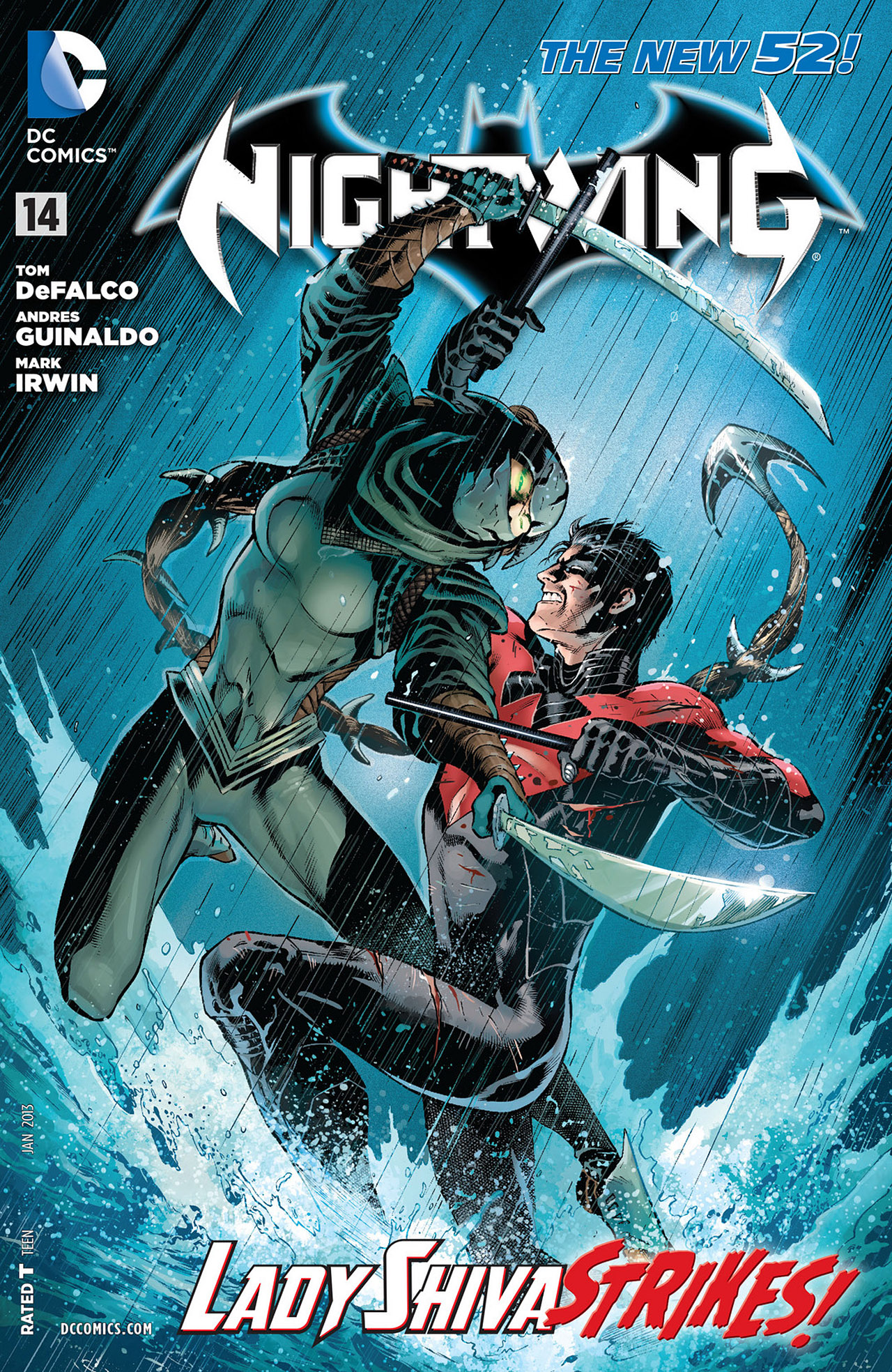 Nightwing Vol 3 14 | DC Database | FANDOM powered by Wikia